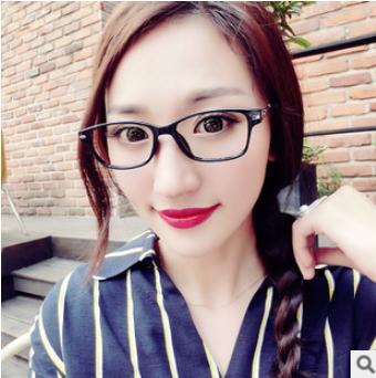 50%OFF【J007943Gls】新款金屬復古眼鏡框百搭潮男女時尚彈簧腿眼鏡框架 附眼鏡盒 防紫外線