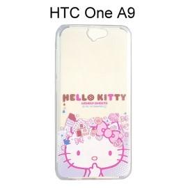 Hello Kitty 透明軟殼 [大臉] HTC One A9【三麗鷗正版授權】