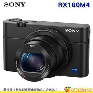 ★馬拉松排隊商品★ SONY RX100 IV M4 數位相機 4K錄影 RX100M4 中文平輸 保固一年