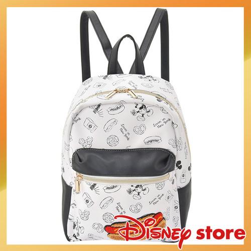 【真愛日本】FASHION-NYNY系列皮革手提後背包-米奇大亨堡    迪士尼 米老鼠米奇 米妮   背包  包包