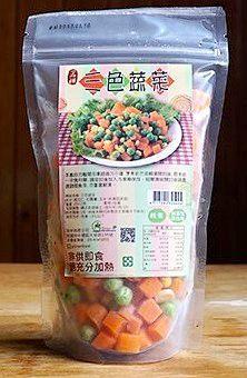 易申 一品禪 冷凍三色蔬菜200g 特價$55 非基因改造 純素 無添加防腐劑 無添加人工色素