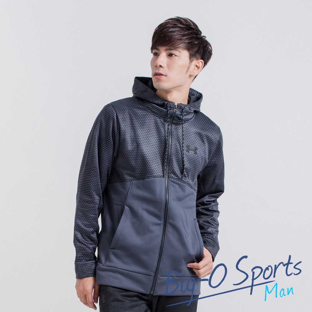 UA Under Armour 男子UA Storm Armour Fleece Icon拉鍊衫連帽上衣 男 1280753008 Big-O Sports