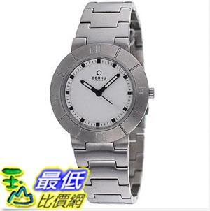 [美國直購] 女錶 Obaku Women's V140LCISC Harmony Silvertone Bracelet Watch