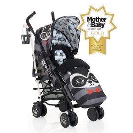 【Limiteria】全球最繽紛的嬰幼兒手推車 英國Cosatto 嬰幼兒手推車 彩色繽紛-樂酷浣熊 (一次付清 特價33折 只要$6,999)