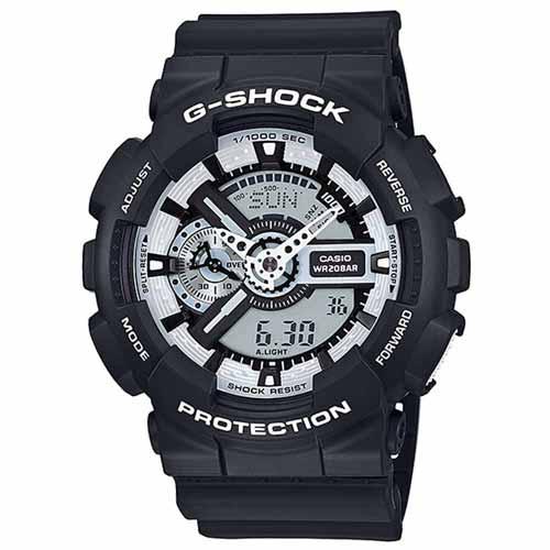 CASIO G-SHOCK GA-110BW-1ADR黑白無間流行腕錶/51mm