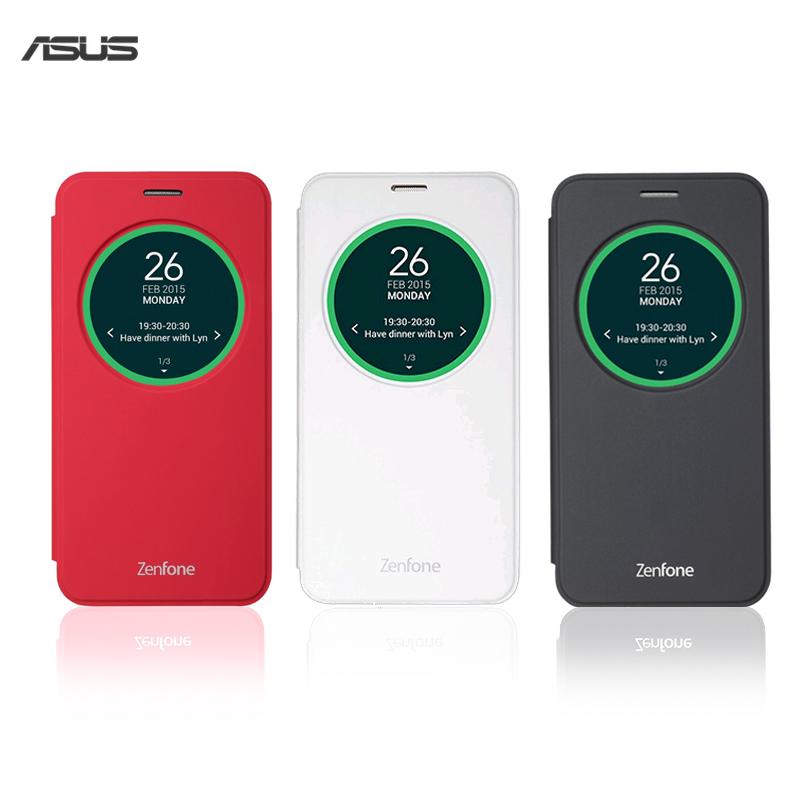ASUS ZenFone 2 Laser ZE550KL Z00LD 5.5吋 原廠智慧透視皮套/電池蓋皮套/原廠皮套/保護套/保護殼/皮套