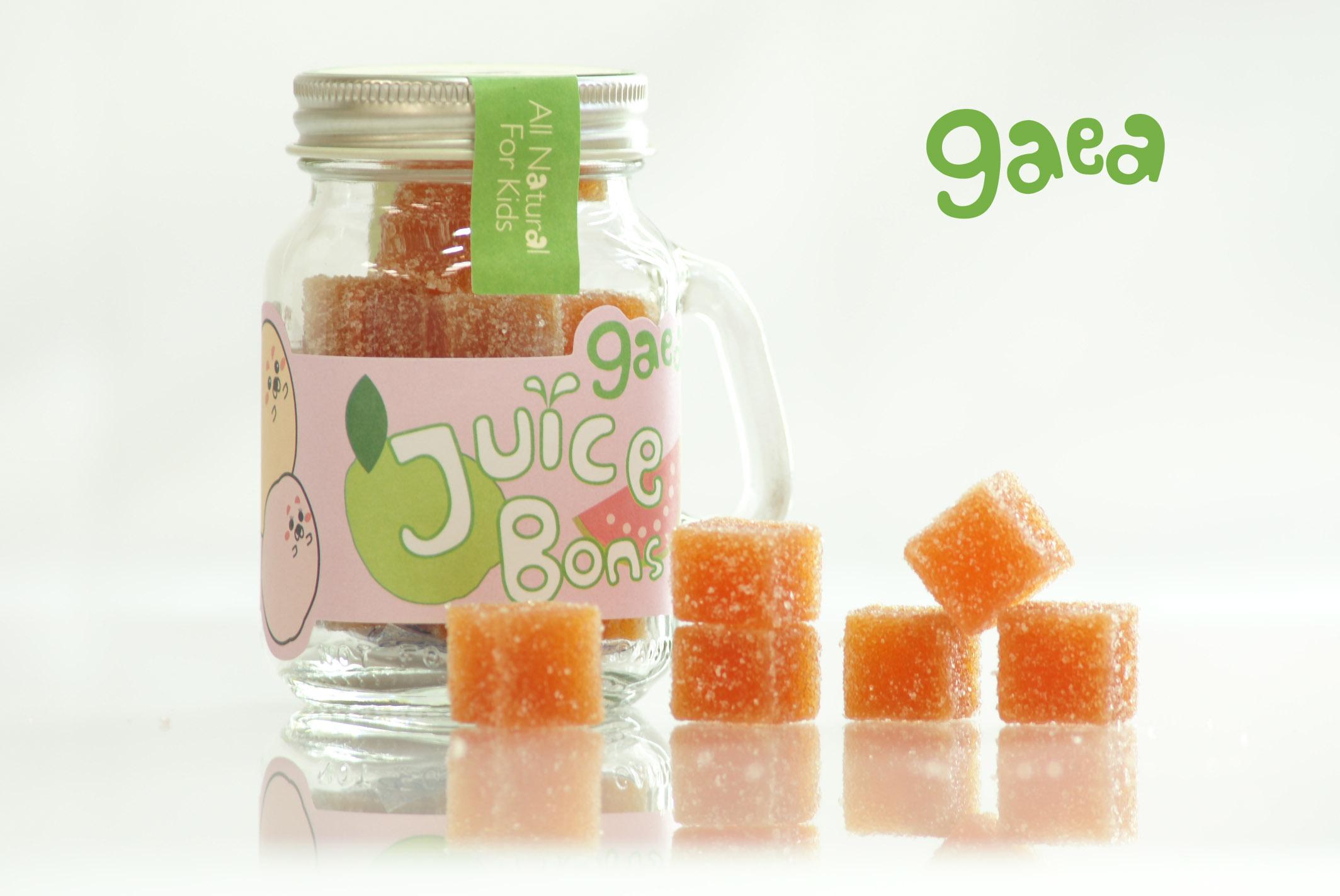 吉芽水果軟糖-紅心芭樂 + 天然 + 零食