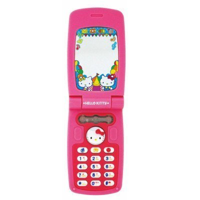 【真愛日本】16012000008 玩具-翻蓋手機 KITTY 凱蒂貓 三麗鷗 扮家家酒 兒童玩具 遊戲 玩具手機