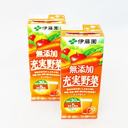 【敵富朗超巿】伊藤園 充實野菜汁-蘋果.紅蘿蔔
