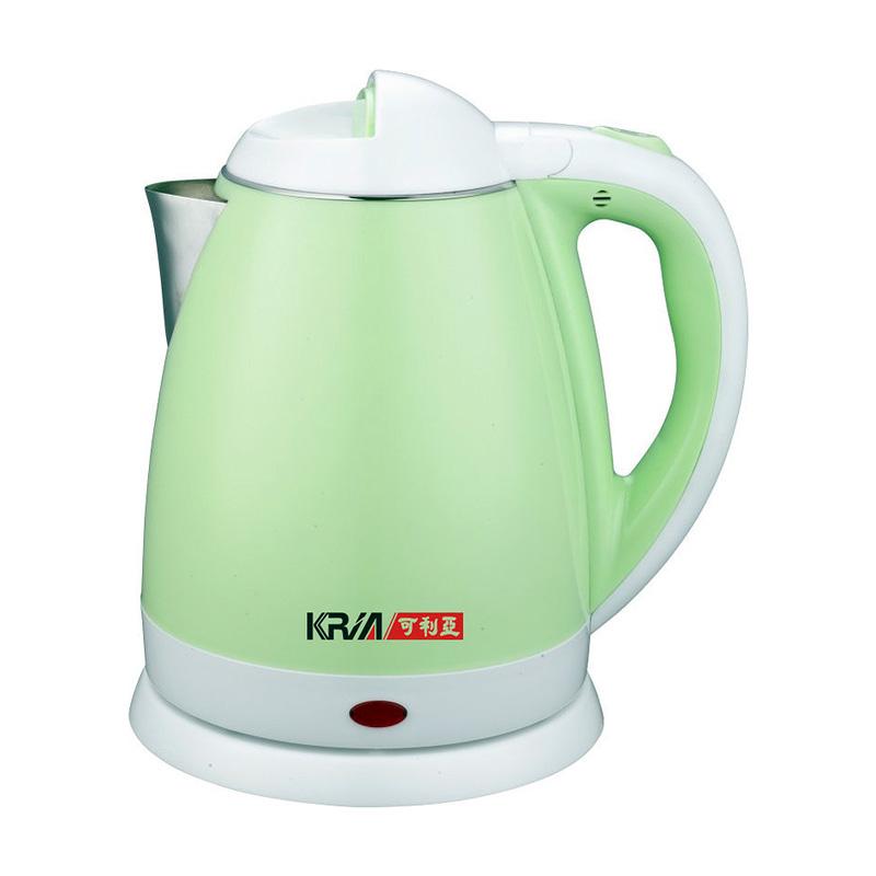 【KRIA可利亞】2.0L雙層保溫不鏽鋼快煮壺 KR-1320