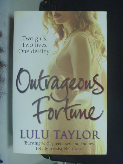 【書寶二手書T6/原文小說_LQY】Outrageous Fortune_Lulu Taylor