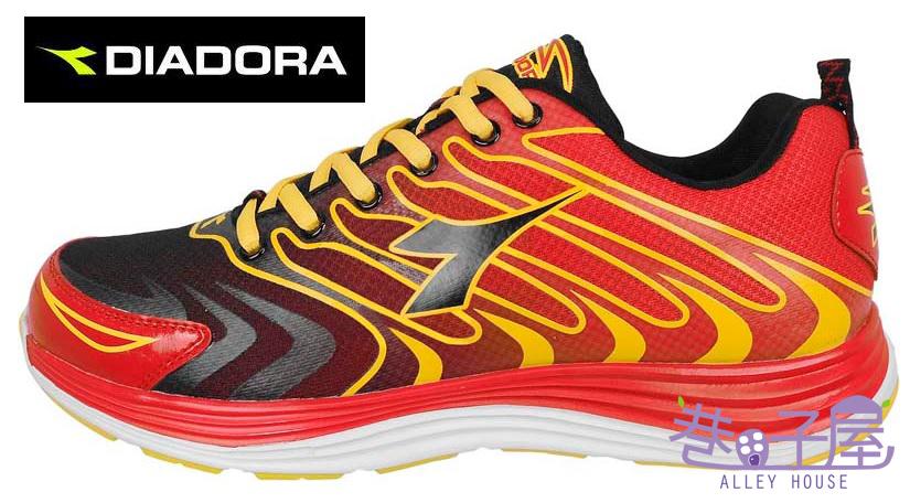 【巷子屋】義大利國寶鞋-DIADORA迪亞多納 男款E楦頭流線型超跑鞋Z [2992] 紅 超值價$966