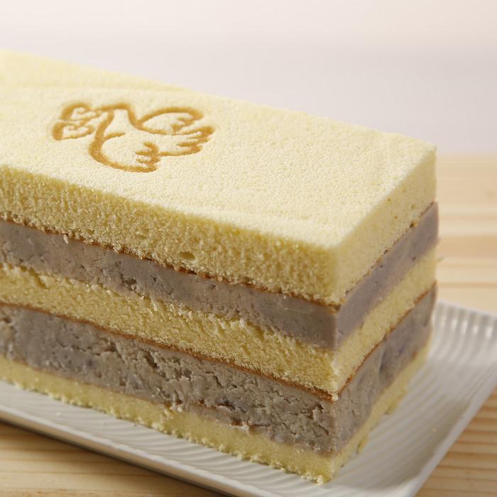 愛情鳥芋泥雙層蛋糕(一條) 77折245元