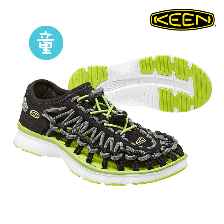 KEEN 織帶涼鞋Uneek O2 1015481《童款》/ 城市綠洲 (編繩結構,輕量,戶外休閒鞋,運動涼鞋)