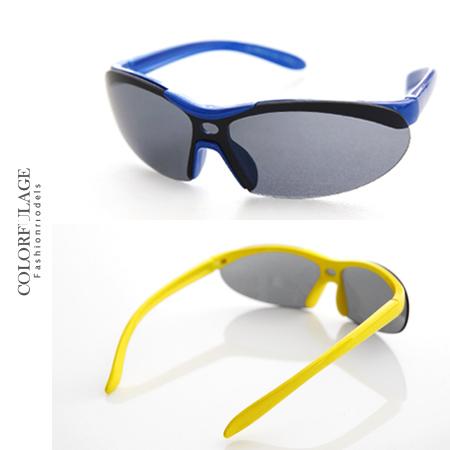 太陽眼鏡 墨鏡 抗UV400 運動必備兒童專用太陽眼鏡 繽紛色彩 輕巧、防風 柒彩年代【NY292】共五色
