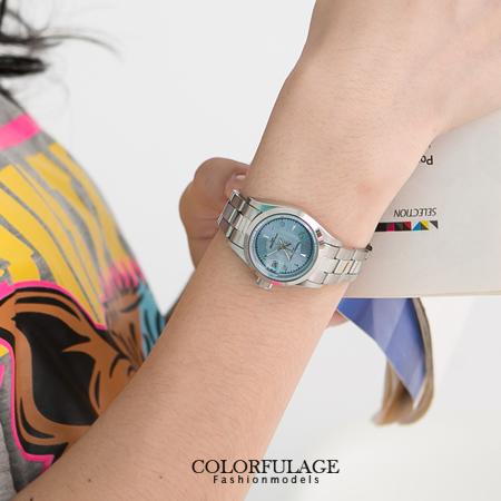 Valentino范倫鐵諾經典水藍錶