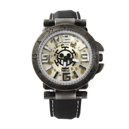 海賊王手錶 復古厚實錶殼個性 One Piece立體數字 禮物首選 柒彩年代【NE1487】原廠平行輸入