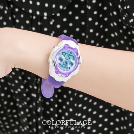 粉嫩果凍多功能電子錶