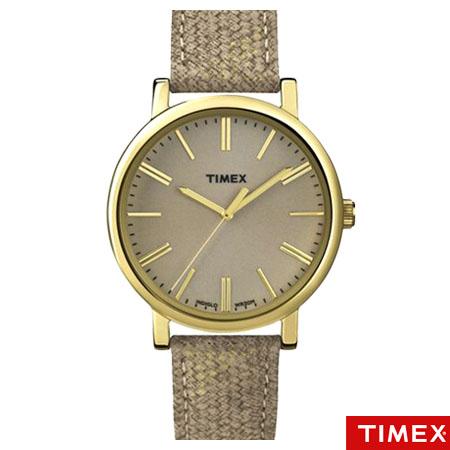 TIMEX天美時 獨特炫金刻度手錶 INDIGLO夜光指針錶 真皮錶帶 柒彩年代【NE1214】原廠公司貨