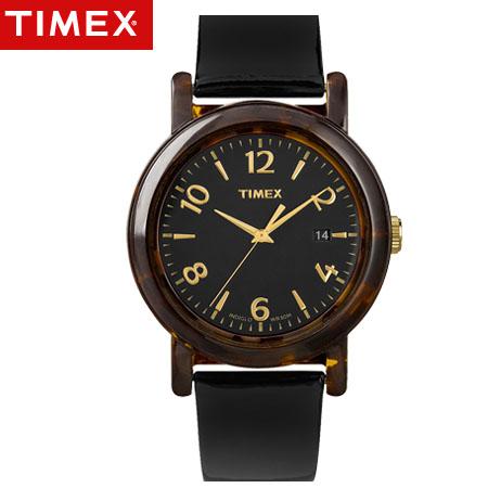 天美時TIMEX復古腕錶 玳瑁色手錶復刻潮流 限量特色 美國第一品牌 柒彩年代【NE1215】原廠公司貨