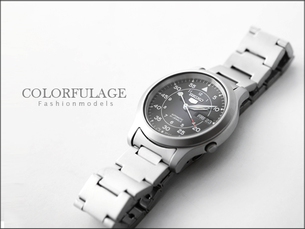 柒彩年代˙日本精工五號SEIKO軍用機械腕錶 型男首選禮物霧面材質【NE619】