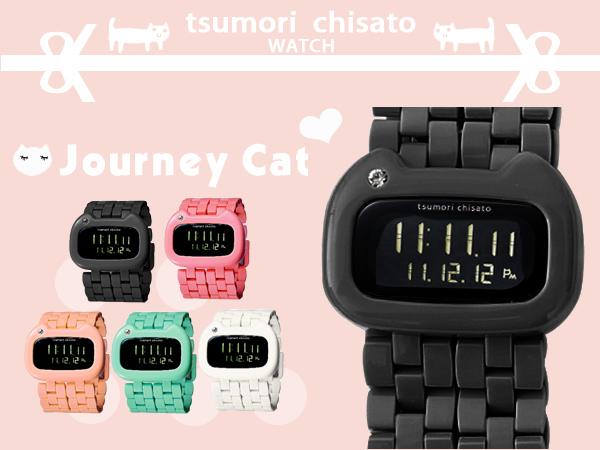 津森千里 tsumori chisato獨家日系手錶 Journey Cat旅貓限量錶款 柒彩年代【NE776】原廠公司貨