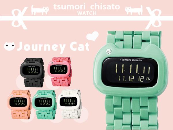 津森千里 tsumori chisato日系手錶 Journey Cat旅貓限量錶款 柒彩年代【NE776】原廠公司貨