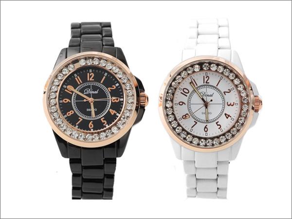 鑲滿鑽華麗精鑽手錶