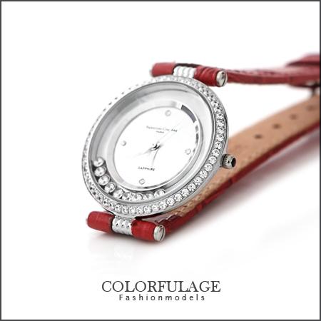 Valentino范倫鐵諾 奢華滾鑽手錶