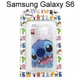迪士尼透明軟殼 Samsung G9200 Galaxy S6 [大頭] 史迪奇【Disney正版授權】