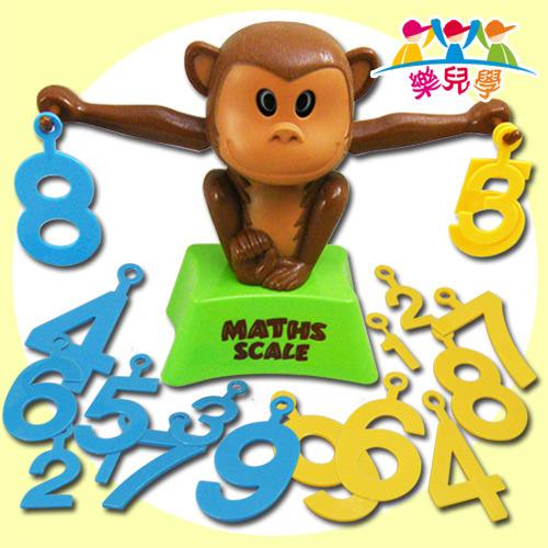 鼓励宝贝挑战简易加法并学习办认数字   小猴子两手的数字必须加