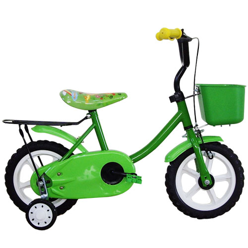 Adagio 12吋悠遊童車附置物籃(綠)~台灣製造 (ME0046G)