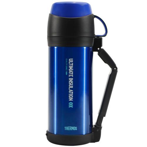 THERMOS膳魔師 不鏽鋼真空保溫瓶1000ml-藍色【FFW-1000】(MF0304B)