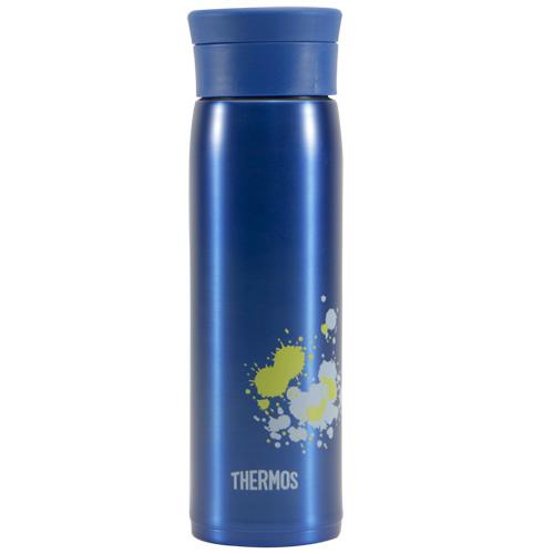 THERMOS膳魔師 不鏽鋼真空保溫杯600ml-藍色【JMZ-600】(MF0308B)