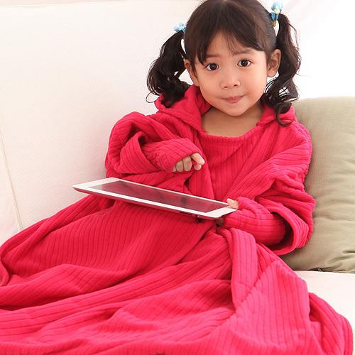 【床之戀】台灣精製超輕保暖纖維兒童保暖手套+鞋組(紅)-3M吸濕快乾處理布(MG0068R)