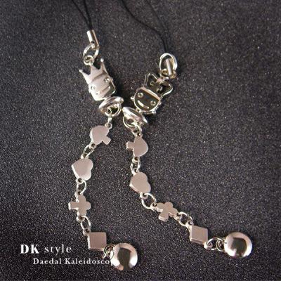 【DK Style】手機吊飾-King & Queen★情人節、聖誕節、生日送禮必備★(MQ0140)