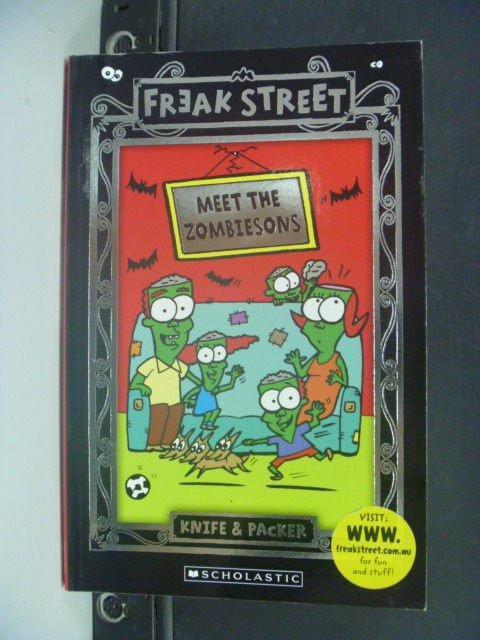 【書寶二手書T3/兒童文學_KIY】Freak Street_Knife, Packer