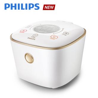 IH電子鍋-石英白(HD4566)送淨水器(WP3812)+FORU極簡午餐組★飛利浦 PHILIPS