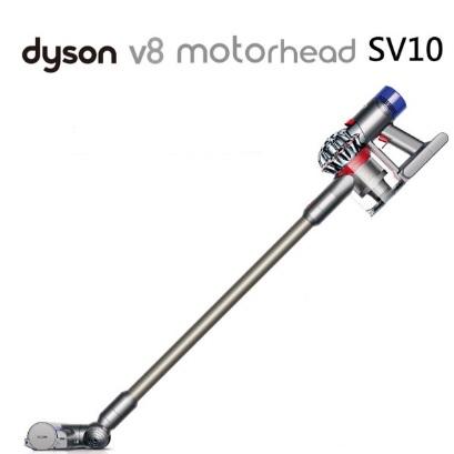 Dyson V8 fluffy SV10 無線吸塵器 銀灰色 + AM07 無扇葉風扇 優惠組合★附全配共7吸頭 最新第八代戴森數位馬達 降躁設計 公司貨2年保固