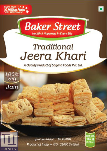 Bakers Street Traditional Jeera Khari 印度千層烘焙酥 (小茴香口味)