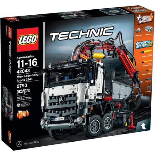 樂高積木 LEGO《 LT42043 》2015 年 創意大師 Technic 系列 - Mercedes-Benz Arocs 3245