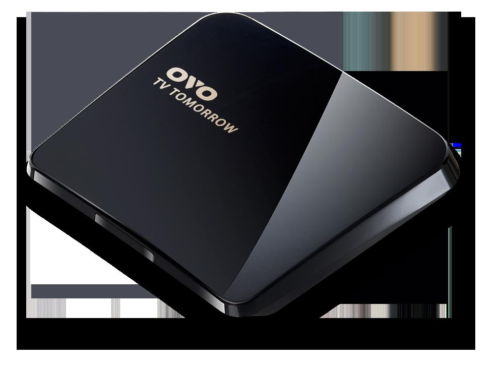 OVO TV TOMORROW電視盒 (OVO-B01) 支援4K2K高畫質▼安卓/iOS皆可使用 送飛利浦咖啡機HD7450
