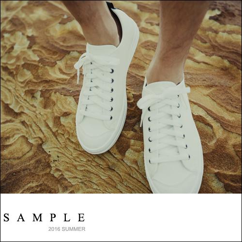 韓國製 運動鞋 綁帶皮革厚底/內增高4公分【SN16318】- SAMPLE