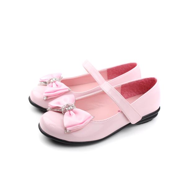 娃娃鞋 粉紅 大童 no133