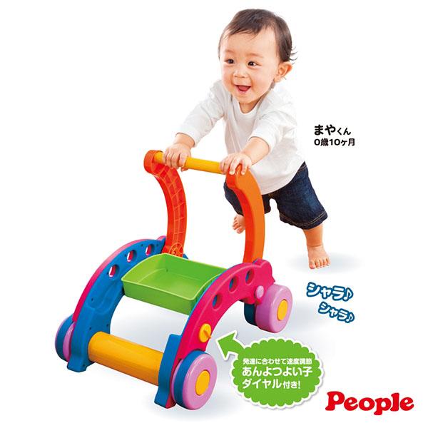 *babygo*日本People - 新折疊式簡易學步車