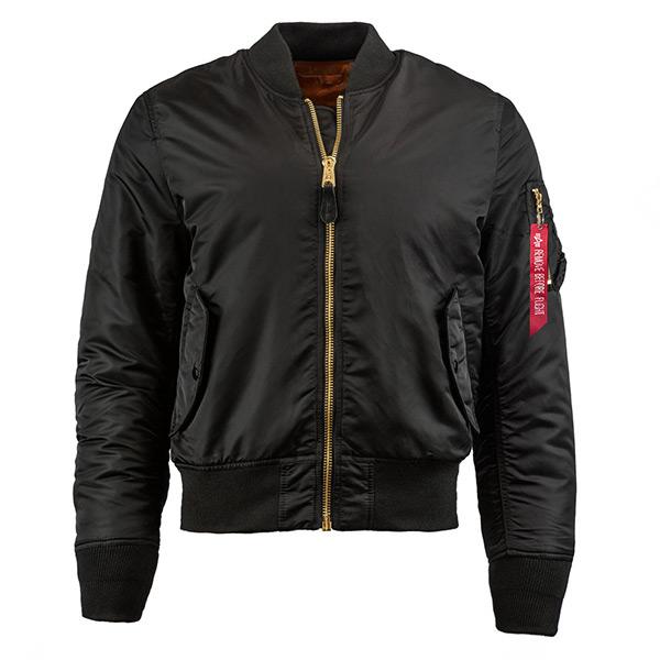 【EST】Alpha Industries Ma-1 Slim Fit Flight Jacket 外套 黑 Mjm44530C1 [AL-0001-002] G1125