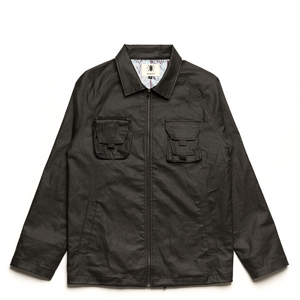 【EST】Daily Paper Water Repellent Coach Jacket 外套 黑 [DP-0034-002] G1125