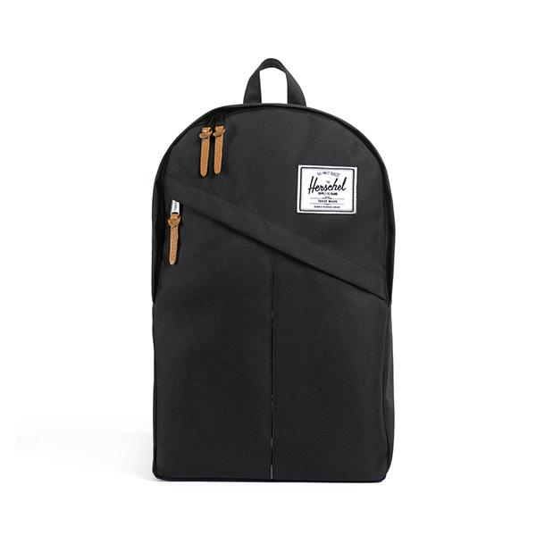 【EST】HERSCHEL PARKER 斜拉鍊 15吋電腦包 後背包 黑 [HS-0003-001] G0414