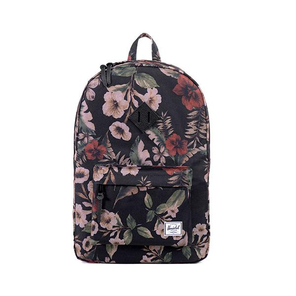 【EST】HERSCHEL HERITAGE 豬鼻 15吋電腦包 後背包 花卉 [HS-0007-910] G0122