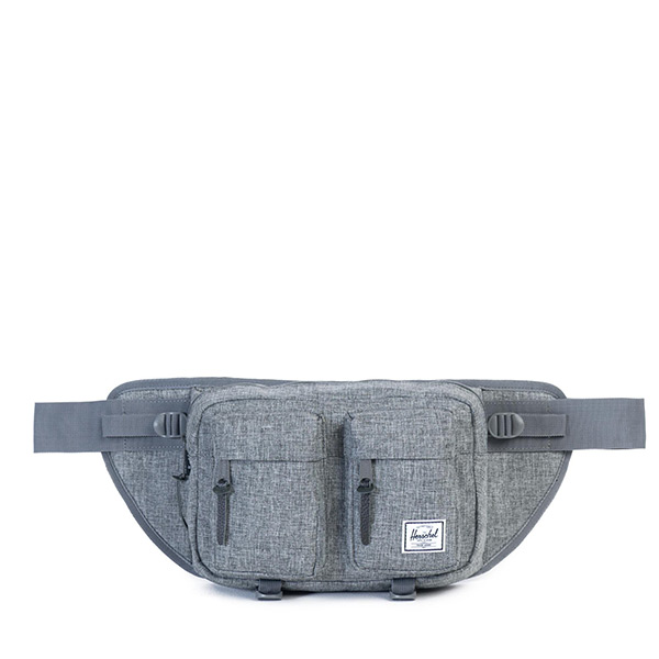【EST】Herschel Eighteen Hip Pack 600D腰包 灰十字織布 [HS-0018-919] H0112